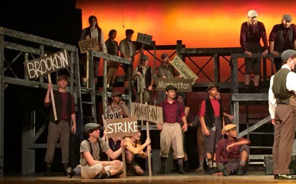 Theatre Review: 'Newsies' at Talent Machine