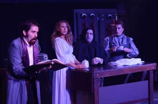 Image of Other Voices Theatre Young Frankenstein major characters