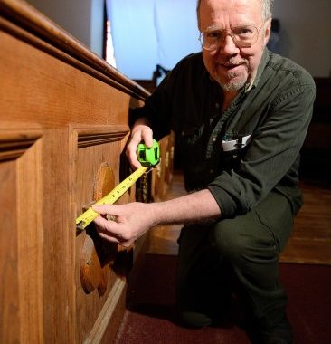'A Quick 5' with Thomas Brown, Woodwright and Theatre Renovator, Baltimore Shakespeare Factory