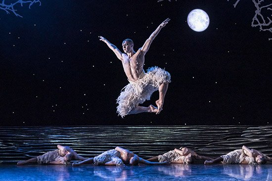 Dance Review: 'Matthew Bourne's Swan Lake' at the Kennedy Center