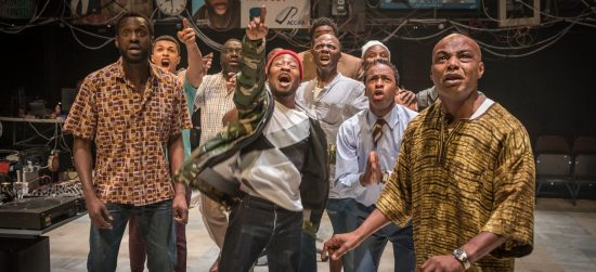 Theatre Review: 'Barber Shop Chronicles,' streaming from the National Theatre and Leeds Playhouse