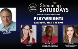 Theatre News: Olney Theatre Center Presents 'Streaming Saturdays: Artists Envision the Future'