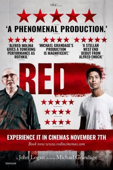 Theatre Review: PBS's Film on Stage Presents 'Red' Starring Alfred Molina