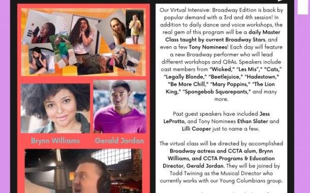 CCTA Brings Broadway To Its Summer Camp