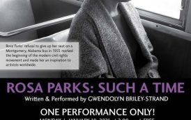 Theatre Review: 'Rosa Parks: Such A Time' from The Essential Theatre, by special arrangements with See the Fruits, Inc.