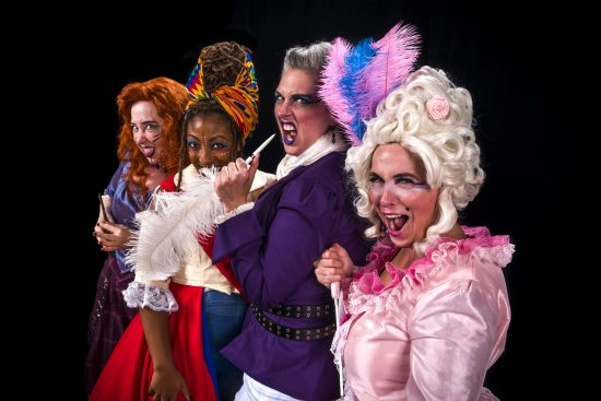 News: The Colonial Players  presents 'The Revolutionists' to Open Its 73rd Season