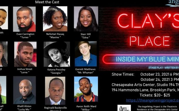 Theatre Review: 'Clay's Place: Inside My Blue Mind' by TheAngelWing Project